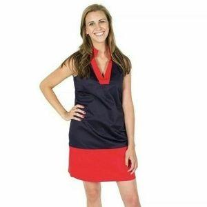Sail to Sable Sleeveless Colorblocked Shift Dress